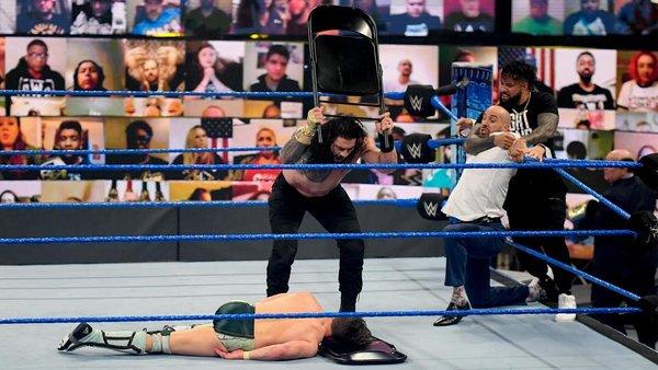 Roman Reigns Daniel Bryan Cesaro Jey Uso