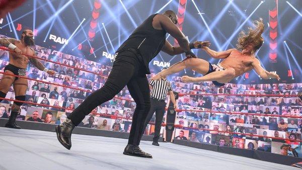Vince McMahon Omos Braun Strowman