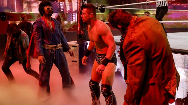 The Miz Zombies WWE WrestleMania Backlash