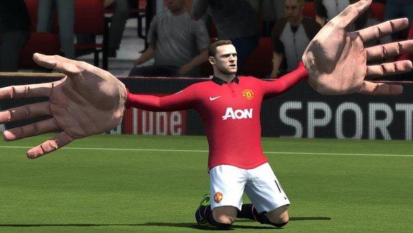 Wayne Rooney FIFA 21 hands
