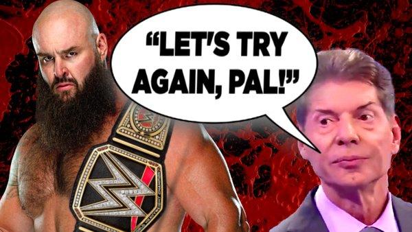Braun Strowman Vince McMahon WWE Title
