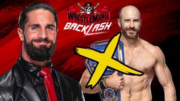 WWE WrestleMania Backlash Seth Rollins Cesaro