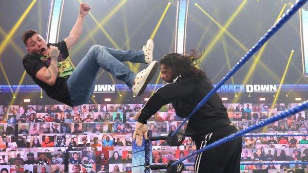 Roman Reigns Dominik Mysterio