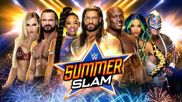 Summerslam 2021 promotional image