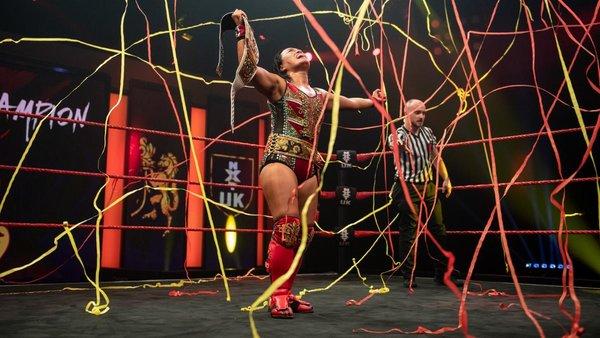 Meiko Satomura NXT UK Women's Champion
