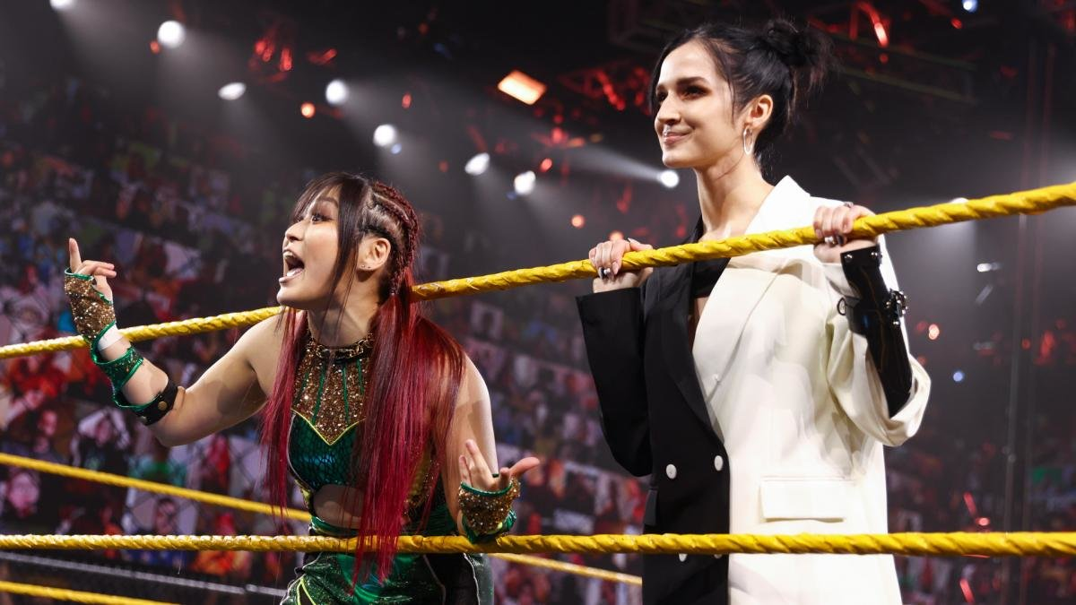 Io Shirai Returns On WWE NXT