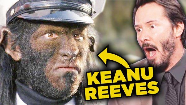 Keanu Reeves Freaked