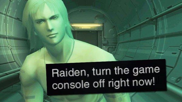Metal Gear Solid 2 Raiden