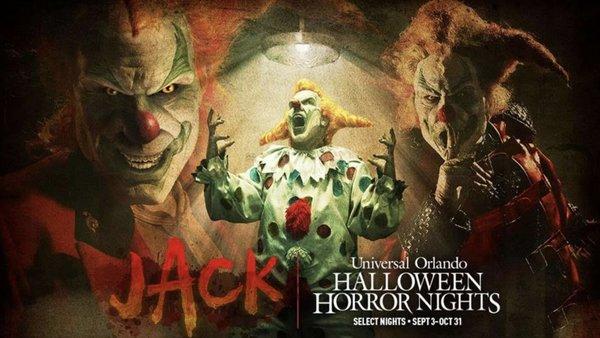Universal Orlando Halloween Horror Nights Jack