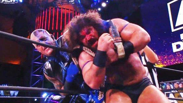 Dustin Rhodes Nick Comoroto AEW Dynamite