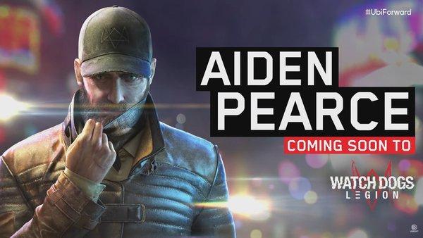 Aiden Pearce Watch Dogs Legion
