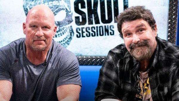 Steve Austin Mick Foley Broken Skull Sessions