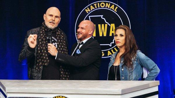 Billy corgan Mickie James NWA