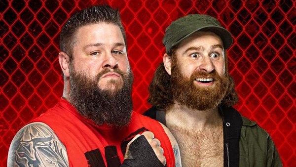WWE Hell In A Cell 2021 Kevin Owens Sami Zayn