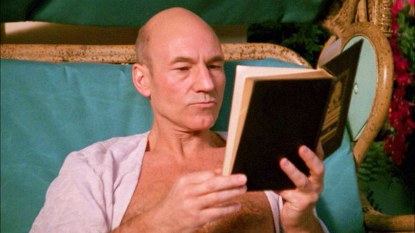 Jean Luc Picard Reading