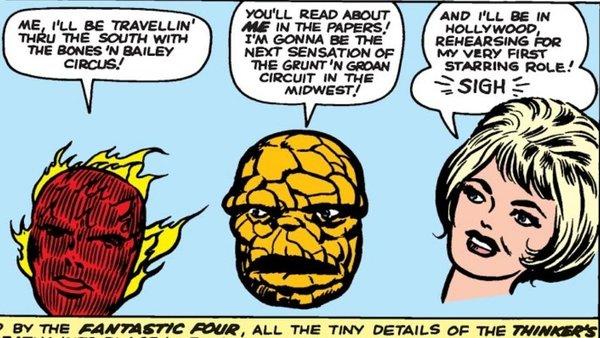 Fantastic Four Quit