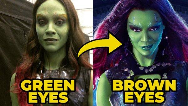Guardians of the Galaxy Gamora Zoe Saldana
