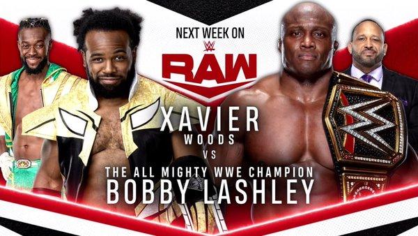 Xavier Woods Bobby Lashley