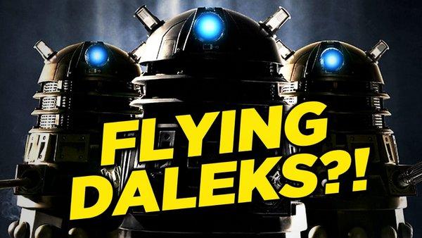 Doctor Who flying Daleks rumour