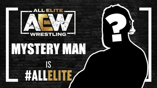 AEW MYSTERY MAN is all elite