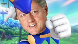 Bill clinton sonic the hedgehog