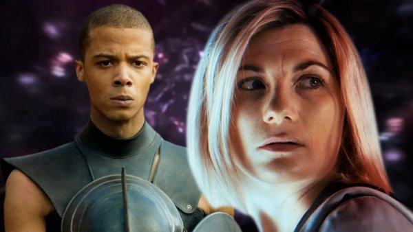 Doctor Who Series 13 Jodie Whittaker Jacob Anderson textless