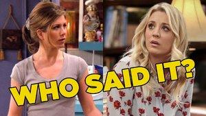 Friends The Big Bang Theory Quiz
