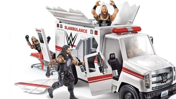 WWE Wrekkin' Slambulance Playset