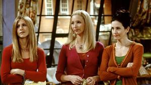Monica, Rachel, and Phoebe