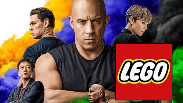 Fast and the furious lego