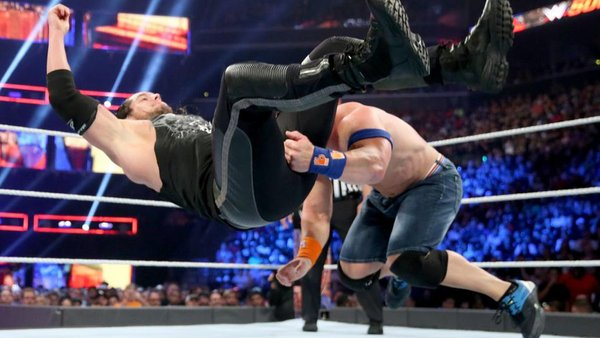 John Cena AJ Styles Summerslam 2016
