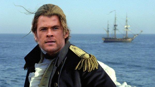 Master and Commander Chris Hemsworth