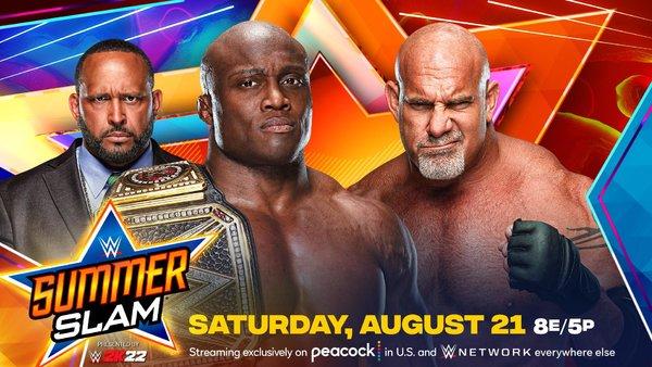 Bobby Lashley Goldberg SummerSlam