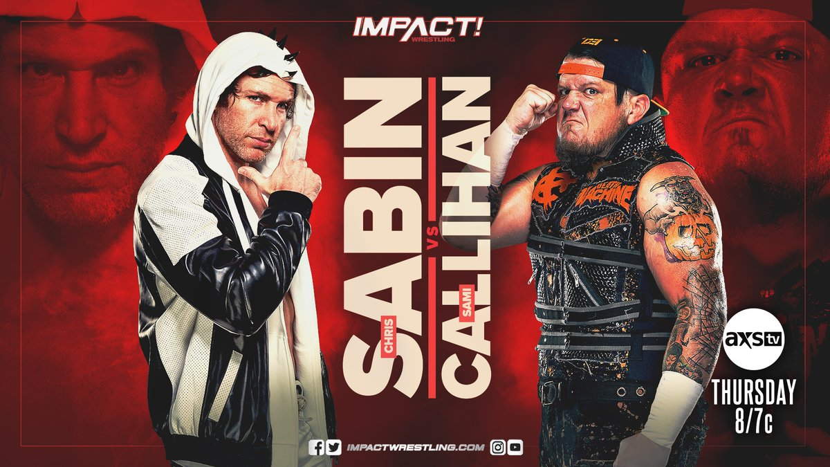 Everything Announced For Tonight's IMPACT Wrestling Card (26 August)