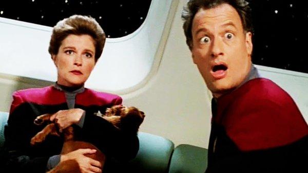 Puppy Janeway Q Star Trek Voyager