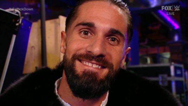 Seth Rollins Smile