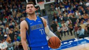 NBA 2K22 Luka Doncic