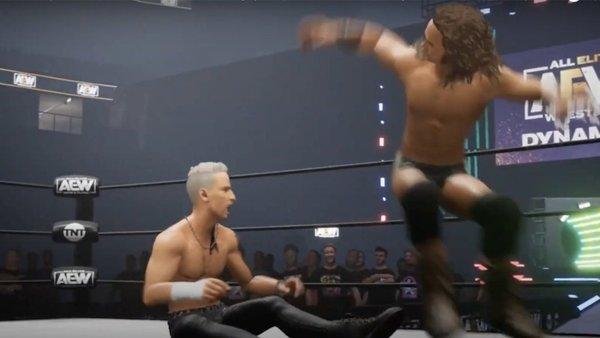 AEW video game screenshot