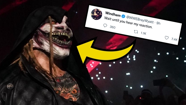 Bray Wyatt tweet