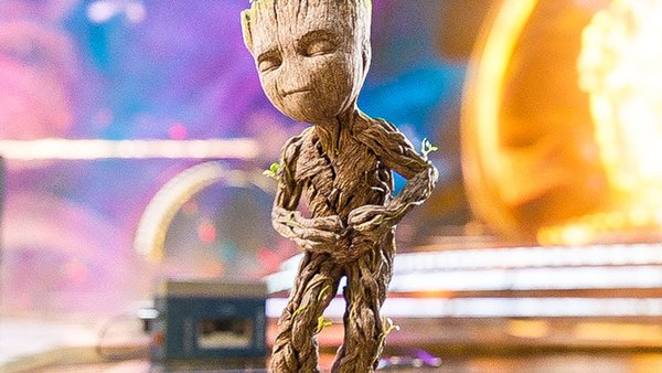 Guardians of the Galaxy Vol 2 Groot Dancing