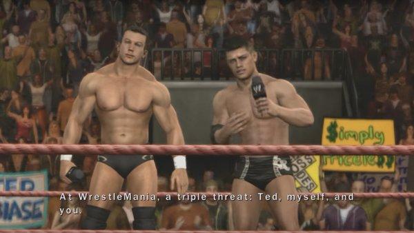Randy Orton WWE SmackDown vs. Raw TLC 2013