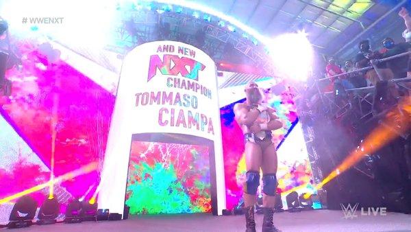 Tommaso Ciampa NXT Champion