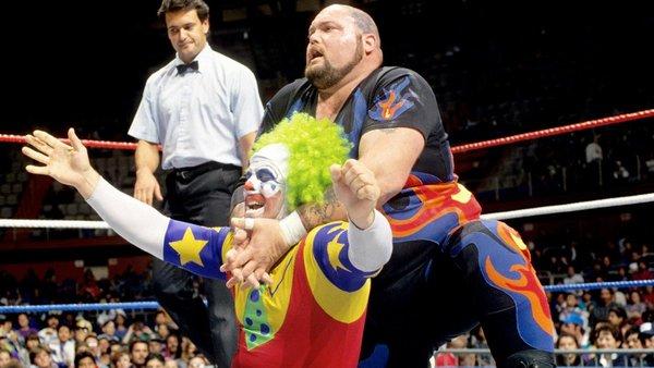 Bam Bam Bigelow Drink The Clown
