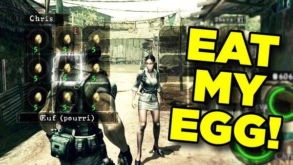 Resident Evil 5 Egg