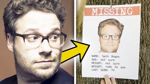 Seth Rogen missing