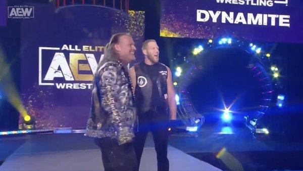 Chris Jericho Jake Hager AEW