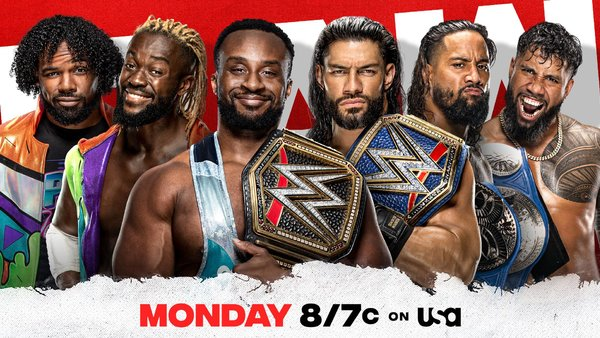 The New Day The Bloodline Raw
