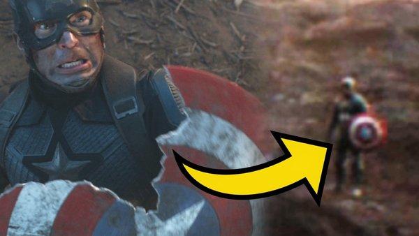 Avengers Endgame Captain America shield mistake