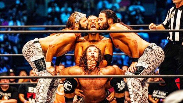 SuperKliq AEW Rampage Young Bucks Adam Cole Jungle Boy