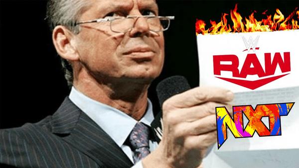 Vince McMahon Raw NXT